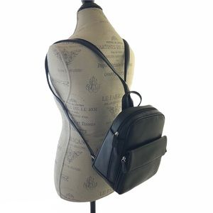 NWT Black Small Backpack One Shoulder